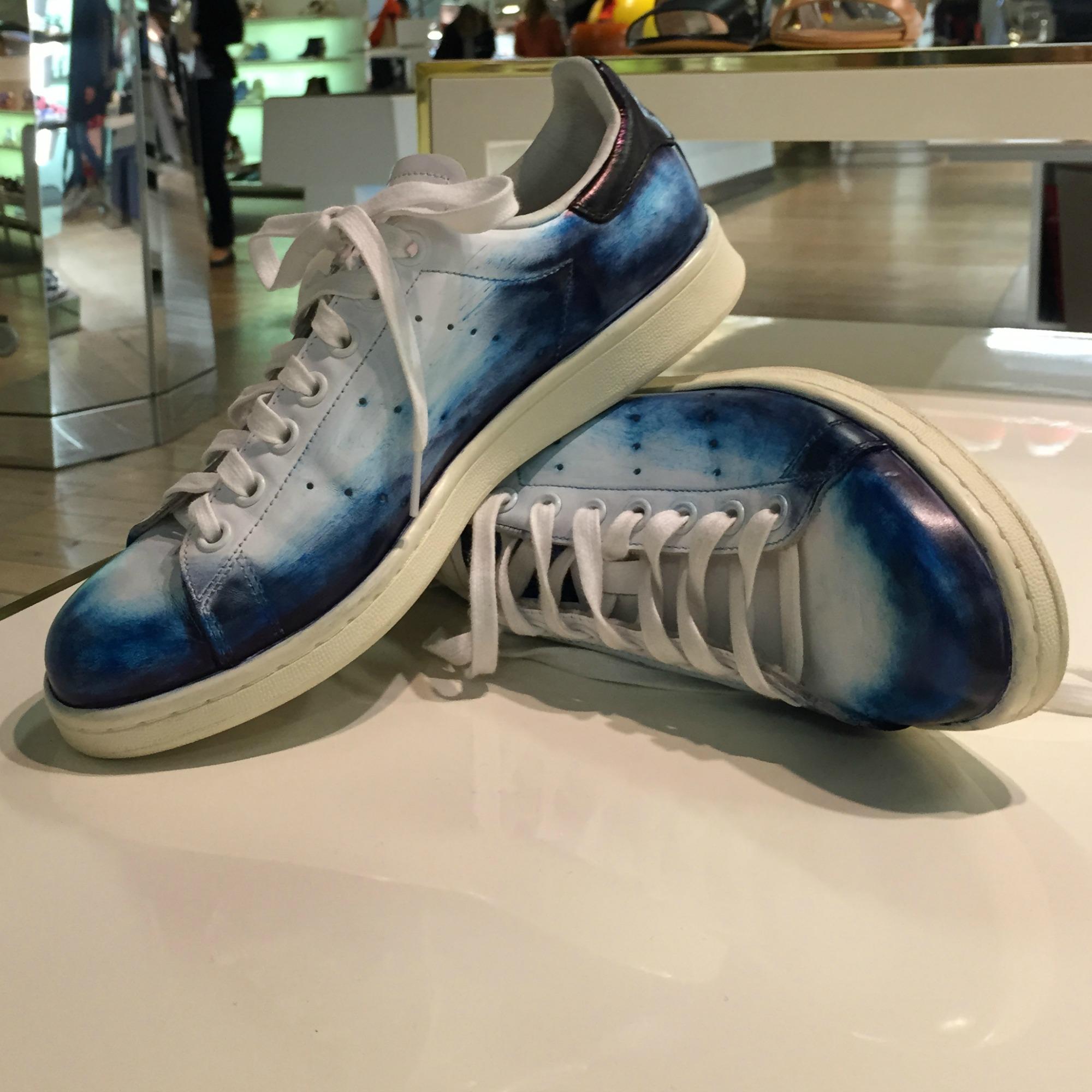 adidas stan smith bleu daim
